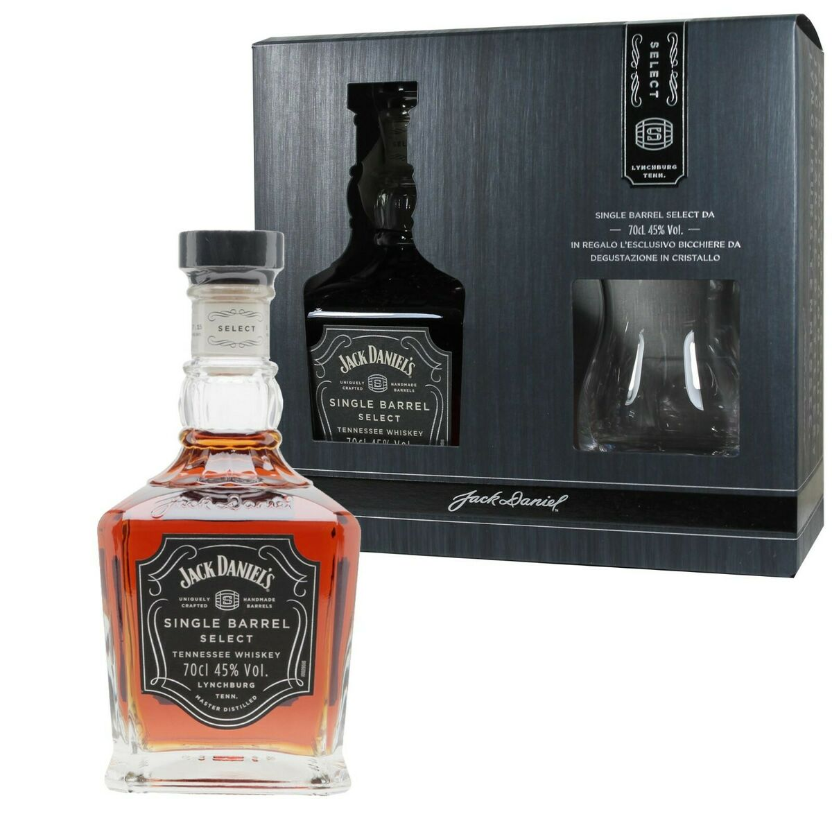 Jack daniel s whiskey single barrel select daniels whisky calice idea regalo 