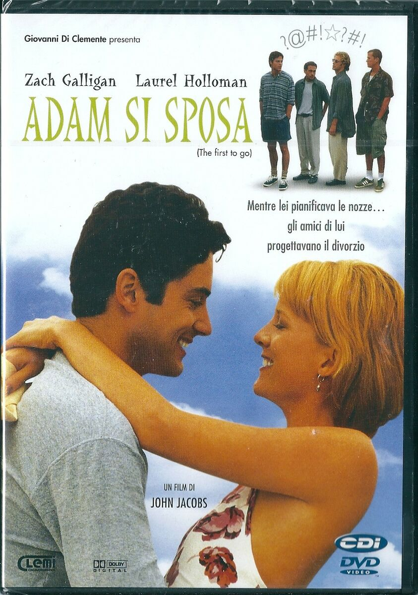 Adam si sposa 1996 dvd nuovo sigillato zach galligan laurel holloman k deutsch 