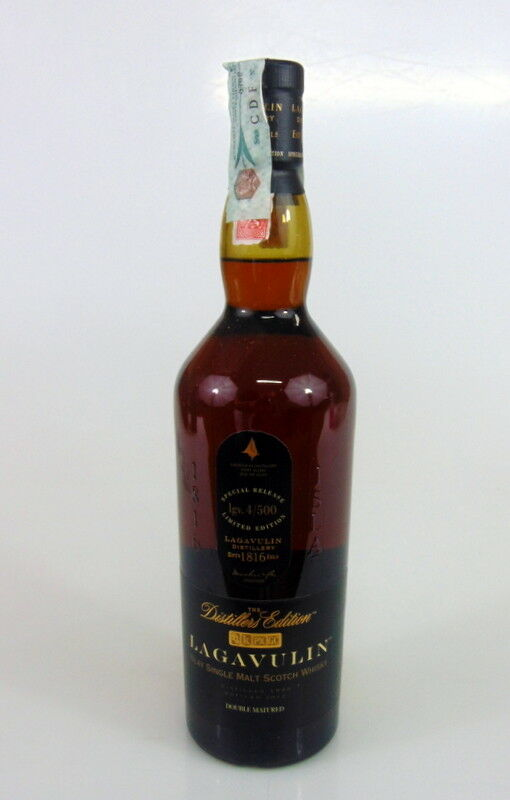 Whisky lagavulin aged 16 years distiller s edition bottled 2012 43 vol 70cl 