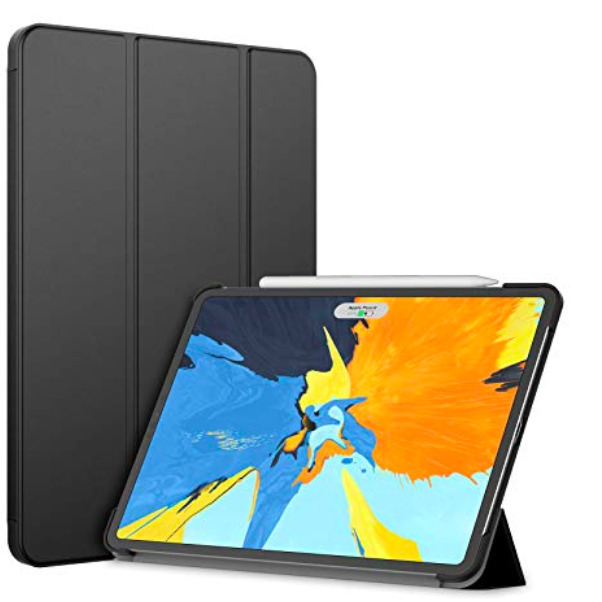 Cover ipad pro 11 2018 ultra slim custodia smart rigida leggera attiva schermo 