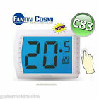 C83 FANTINI COSMI TERMOSTATO AMBIENTE TOUCH SCREEN DIGITALE RETROILLUMINATO 