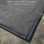 30#x27; x 50#x27; Inground Pool Cover Silver Black Rectangle 15 Year Warranty