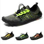 Water Shoes Men Swimming Pump Sport Breathable Sneaker Athletic Slip On Comfort