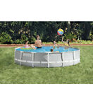 NEW Intex 26723EH 15ft x 42in Prism Frame Swimming Pool w Pump + Ladder