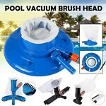 Home Spa Swimming Pool Dirt Suction Vacuum Head Cleaner Brush Above Ground Tool
