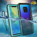 For Huawei Mate 20 Pro Case IP68 Waterproof Diving Swimming Underwater 3m Cover