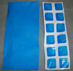 INTEX POOL PATCH MATERIAL 1 PIECE ONLY MATERIAL SIZE IS 7.75quot; X 2.75quot;