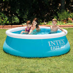 Inflatable Swimming Pool Above Ground Play Pool Kids Adult Child Garden Outdoor