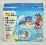 Sun Smart Baby Pool Float Canopy Inflatable Swimming Floats 6 18 Mon Sunshade
