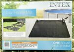 🔥Intex Solar Mat🔥Above Ground Swimming Pool Water Heater 🔥 Black  28685E