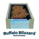 Buffalo Blizzard 16' x 24' Rectangle Swimming Pool Leaf Net Winter Cover