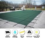 GLI ProMesh Rectangle Inground Swimming Pool Safety Cover Choose Color amp; Size