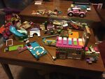 Girls Lego Sets Used Pool House Ice Cream Truck Friends