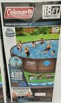 Coleman Vista 15020 18x48 in. Steel Frame Above Ground Swimming Pool
