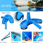 Swimming Pool Suction Vacuum Head Brush Cleaner Curved Suction Head Clean Tool`
