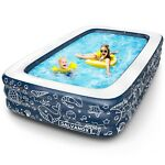 Above Ground Pool 10ft x 30in Swimming Pool w Filter Pump for FamilyKidsAdults