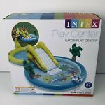 Intex Play Center Gator Inflatable Swimming Pool Play Center Sprayer Slide