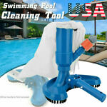 Vacuum Brush Cleaning Tool Swimming Spa Pool Head Suction Pond Fountain Cleaner