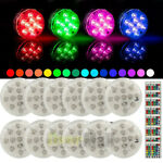 12x RGB LED Color Changing Underwater Swimming Inground Pool Light Bulb amp; Remote