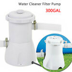 Gray Electric Swimming Pool Filter Pump For Above Ground Pools Cleaning Tool