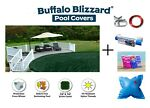 Buffalo Blizzard Ripstopper Swimming Pool Winter Covers w Complete Package Kit