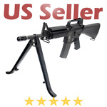 Leapers Hunting Rifle 12quot; Light Weight Synthetic Durable Zytel Clamp on Bipod