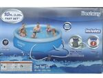 Bestway 10ft X 30in Fast Set Pool With Filter (New!) Swimming pool