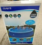 12#x27; x 36quot; Inflatable Swimming Pool Above Ground for Kids Family Water Sport