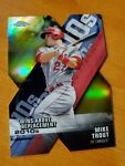 2020 Topps Chrome Wins Above Replacement Gold Refractor Mike Trout Cd DOD 1 #50