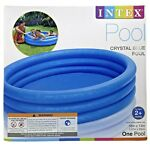 NEW Intex Crystal Blue Pool 58quot; X 13quot; Round Kids Inflatable Swimming Play Pool