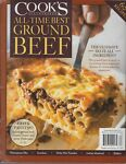 Cook#x27;s Illustrated All Time Best Ground Beef 60 Recipes 2020