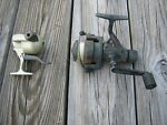 Lot Of 2 Quantum Fishing Reels 1 Spinning And 1 Underspin Micro