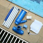 Swimming Pool Cleaning Kit Maintenance Net Vacuum Head Cleaner US Above Ground