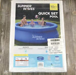 Summer Waves Swimming Pool 10 Feet X 30 Inches With Cartridge Filter in Hand