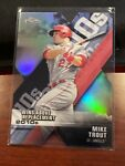 2020 Topps Chrome Mike Trout Wins Above Replacement Die Cut