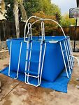 Fitmax iPool 3 Therapy Pool Above Ground Intex Salt Water Generator Sand Filter