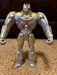 """Silver Knight Optimus Prime Action Figure 12"""" Transformers Age of Extinction"""