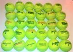 USED TENNIS BALLS GOOD CONDITION 1 2 3 4 5 15 25 REUSE amp; DOG TOYS