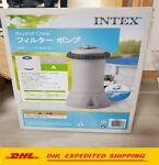 Intex 1000 GPH Easy Set Above Ground Swimming Pool Filter Pump 637r 28637EG