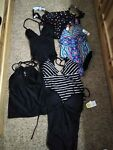 Size small swimming suit lot sizes say 3 5 but more like XS