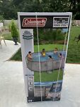 """COLEMAN Power Steel 16ft x 10ft x 48in Oval Above Pool Set 16' x 10' x 48"""" NEW"""