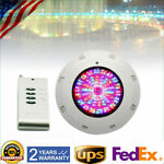 RGB LED Underwater Swimming Pool Light 12V 18W 7Color Remote Control IP68 New