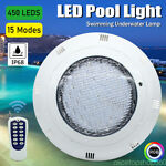 LED RGB Underwater Swimming Pool Light 45W 12V AC DC Color Changing Surface IP68