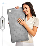Heating Pad XL Large Electric Heat Pad for Moist and Dry Therapy Fast Back N
