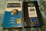 Swimming to Cambodia VHS Spalding Gray Director: Jonathan Demme rare OOP RIP