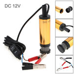 Car Auto Electric Submersible Pump Filter Net Diesel Water Oil Transfer Tool 12V