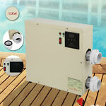 15KW Electric Pool Hot Tub 240V Heater Updated amp; Thermostat Water Swimming SPA