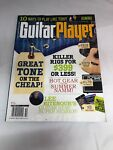 Guitar Player Magazine October 2010 Tone on the Cheap Cover Tony Iommi