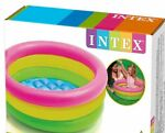 Intex Inflatable Baby Pool Multi Color for Baby Small Swimming Pool