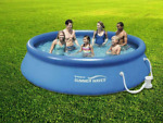 🌊 Summer Waves 🌊 Swimming Pool - 13 ft X 33 inch w Filter Pump - Ships FAST